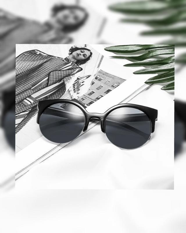 Розпродаж🔥сat eye 😎 солнцезащитные очки круглые,кошачий глаз, ...