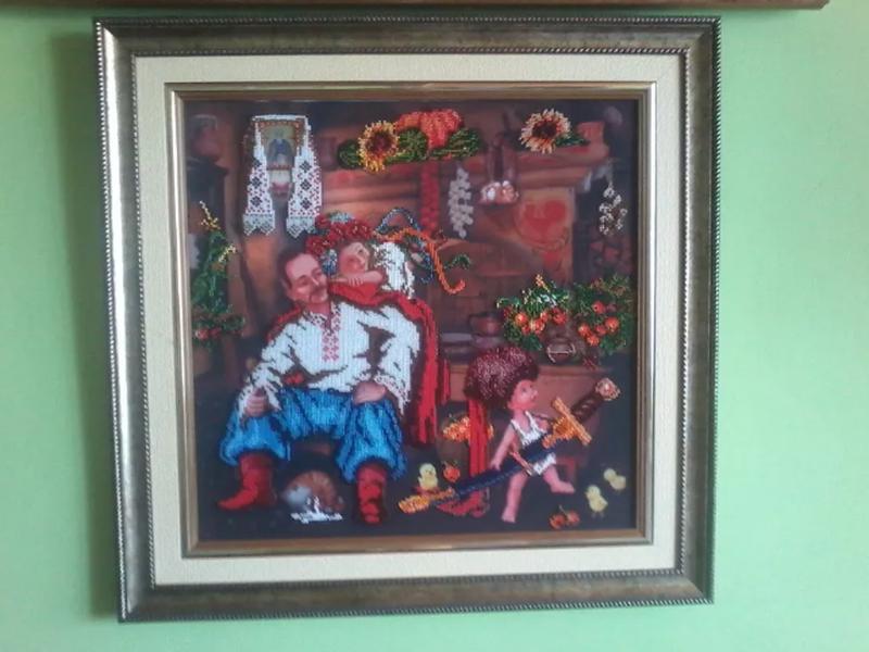 Картина чеським бісером