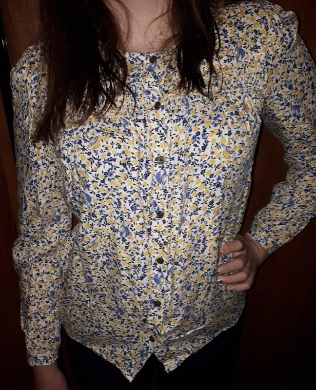 Блузка рубашка вискоза george 10-11 лет