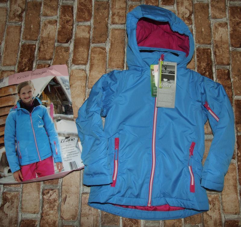 Куртка термо еврозима лыжная 5-6лет crane новая