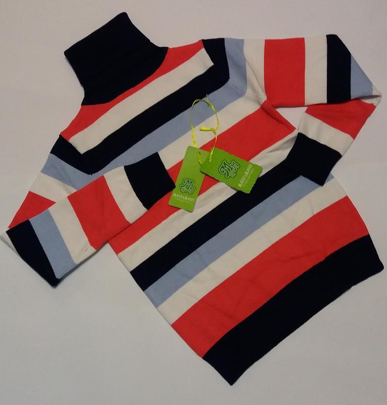 Детский свитер на мальчика MANY&MANY (130 см - 170 см) - Фото 2