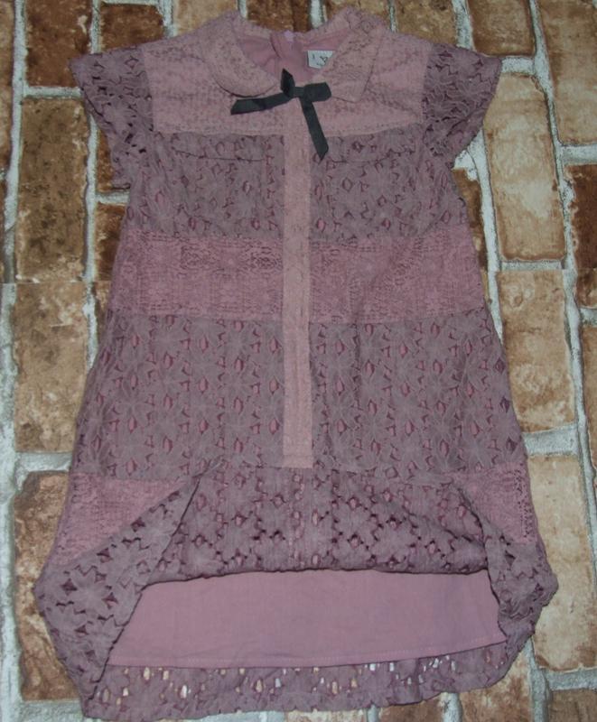 Платье 5лет некст кружевное