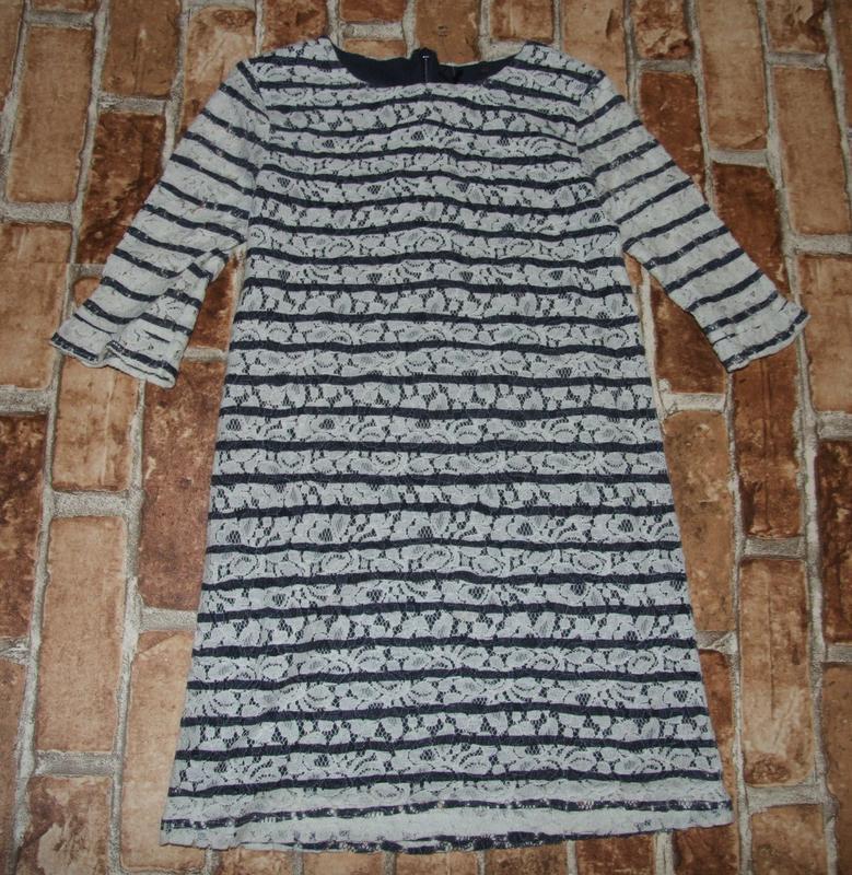 Платье 8лет трикотаж хб