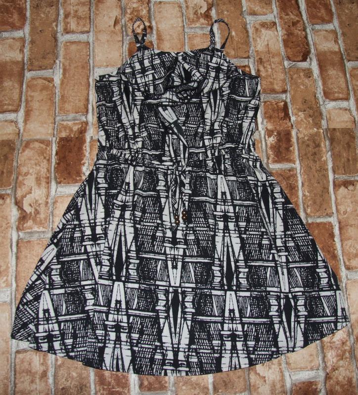Платья легкие лето 3-7лет некст сток