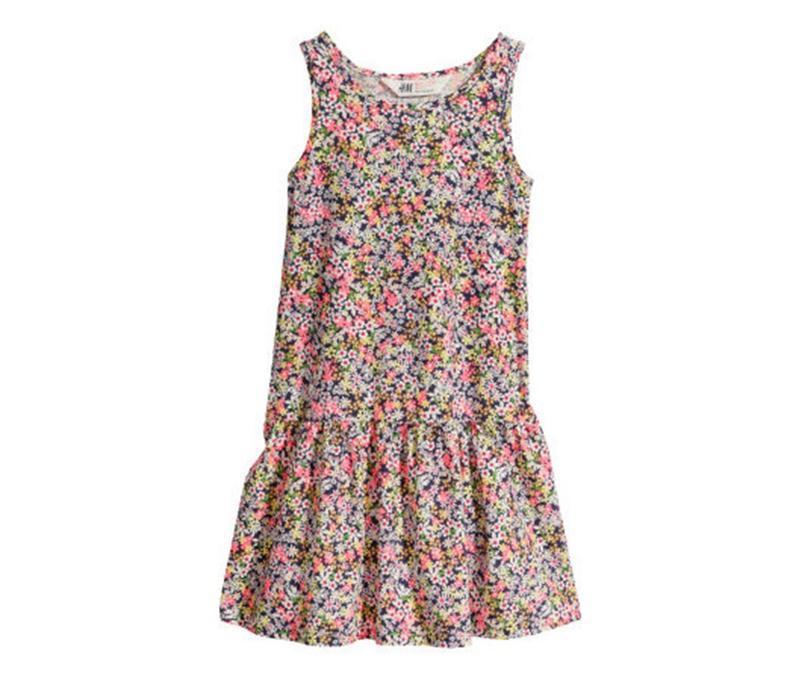 Платьея хб 2-6лет нм сток