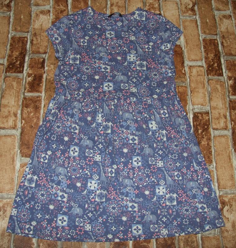 Платье трикотаж 12-13лет джорж сток