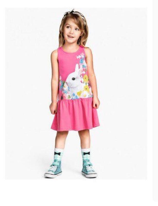 Платье котон 6-8лет нм