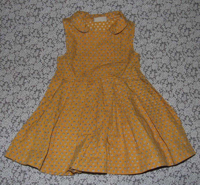 Платье хб 1-2года некст