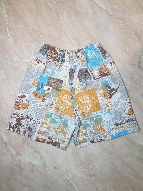 Летние легкие шорты для мальчика на 3-4 года