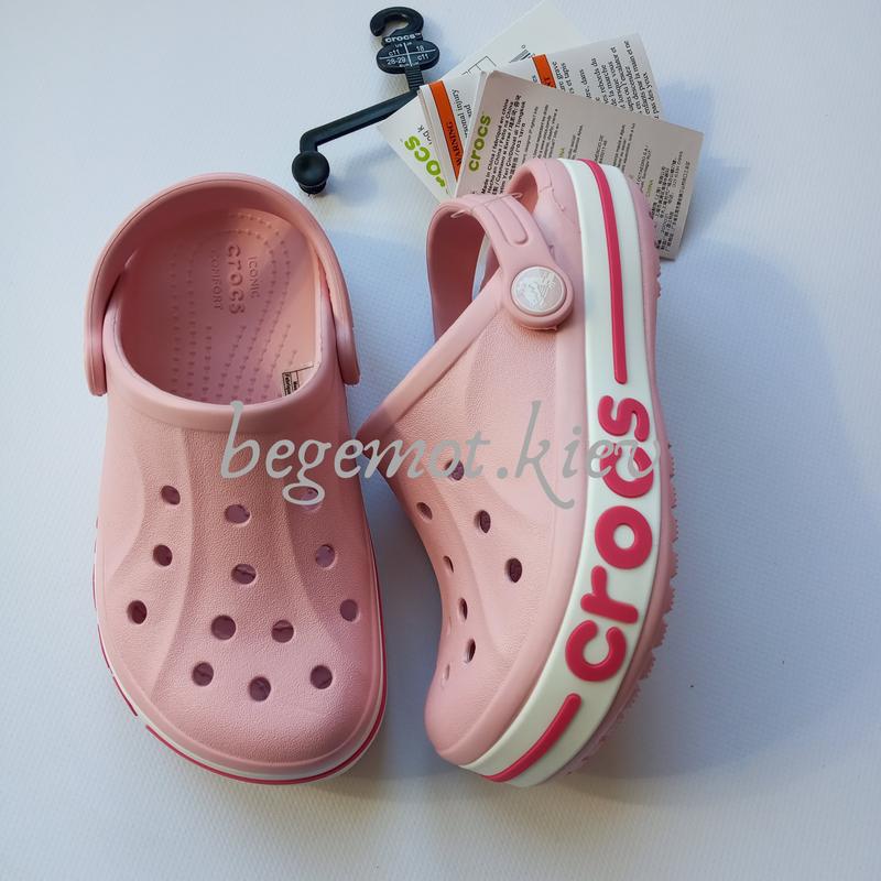 Детские кроксы на девочку сабо crocs baya от с8 с12 j1