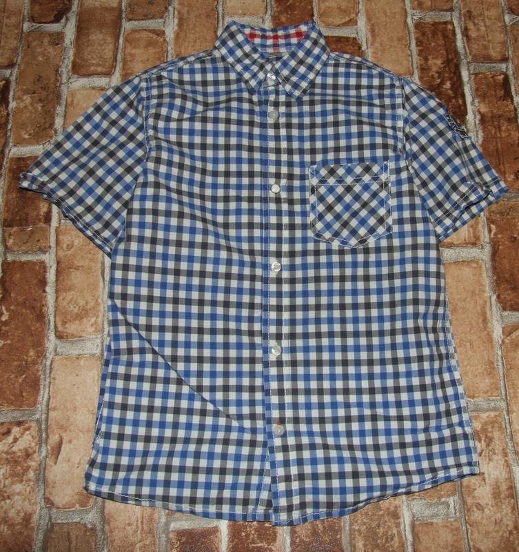 Рубашка тениска котон 9-10 лет