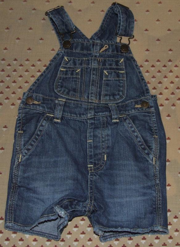 Летний комбинезон джинсовый ромпер 12-18 мес gap