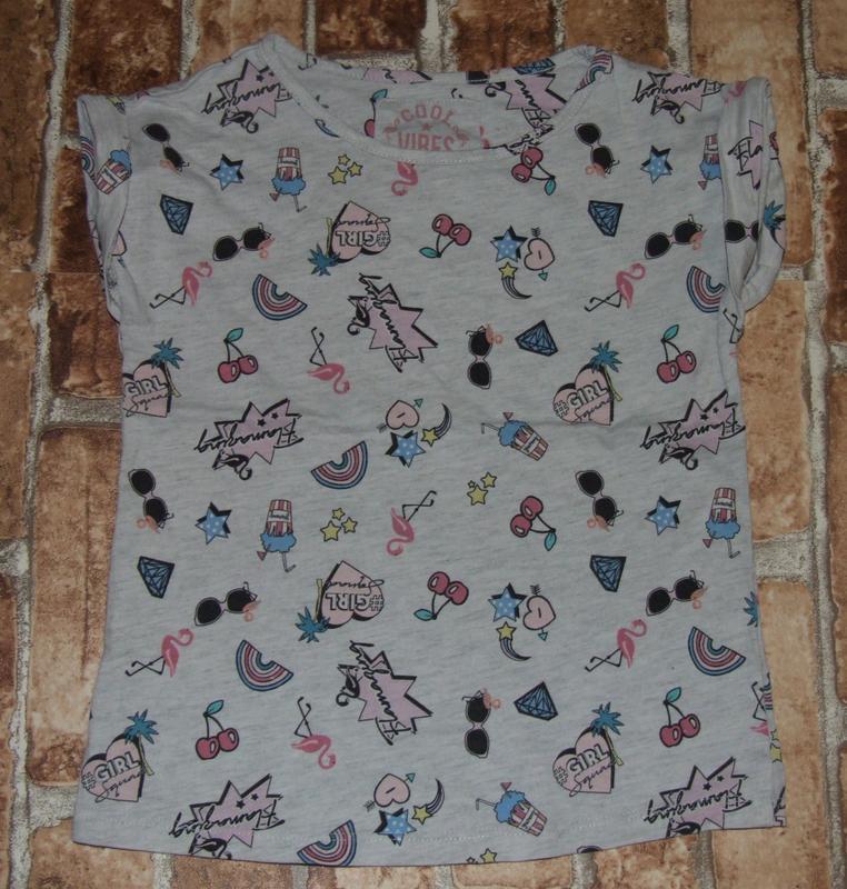 Хлопковая футболка 5 лет