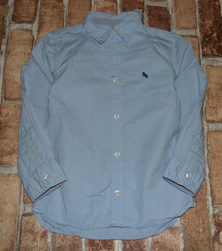 Рубашка мальчику хб 5-6лет нм
