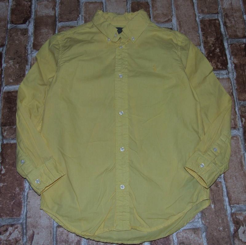 Рубашка мальчику хб 7лет ральф лоран