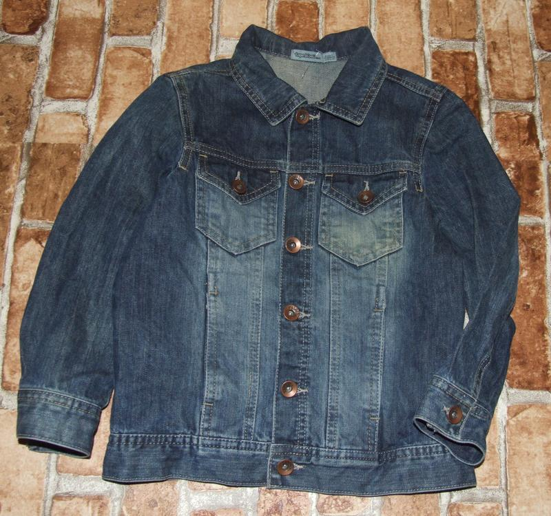Пиджак джинс 8лет