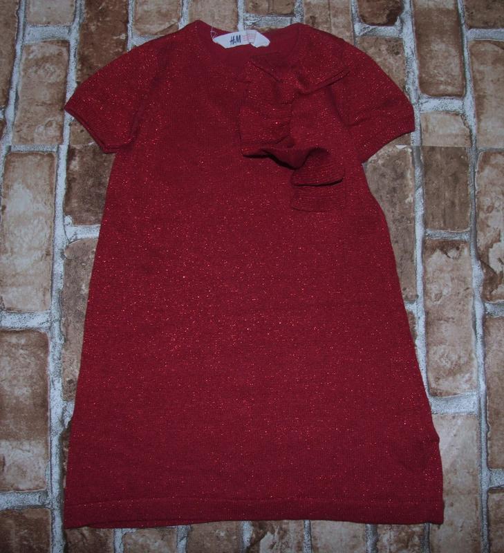 Платья нарядные 2-6лет h&m сток