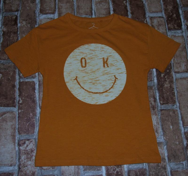 Хлопковая футболка 6 лет next