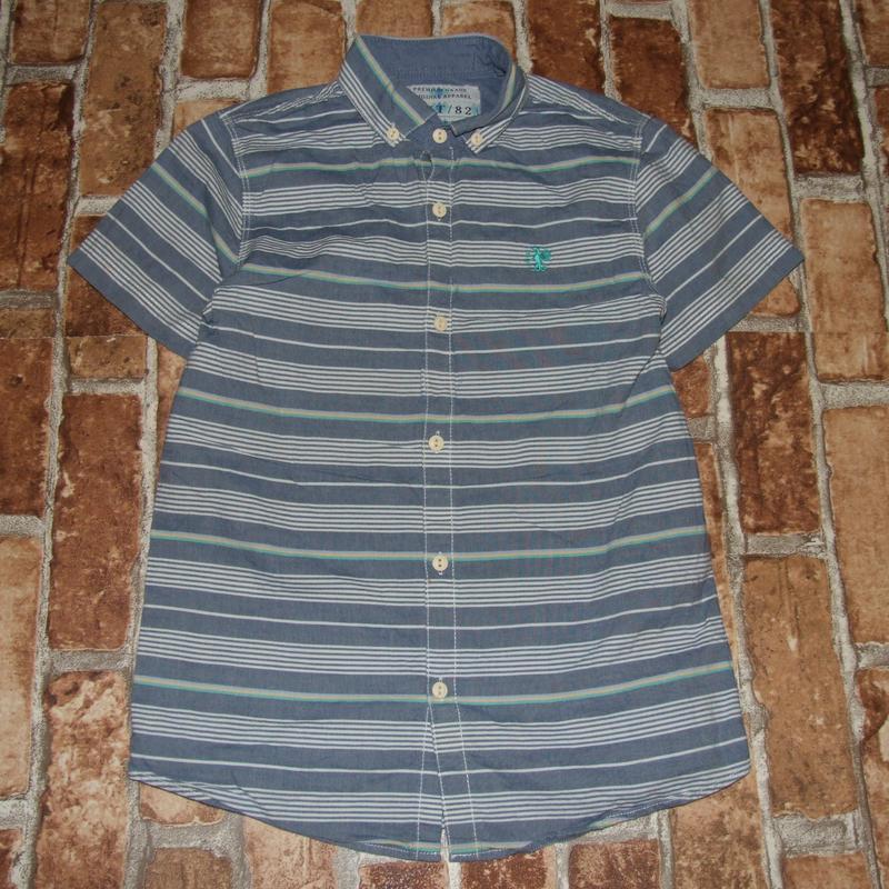 Хлопковая рубашка 8 лет  next