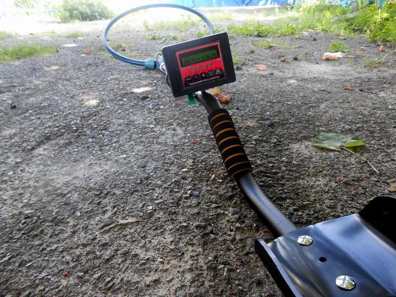 Продам металлоискатель Clone PI-AVR + большая катушка