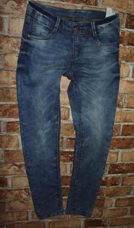 Новые джинсы стрейч узкачи 11-12 лет chapter young