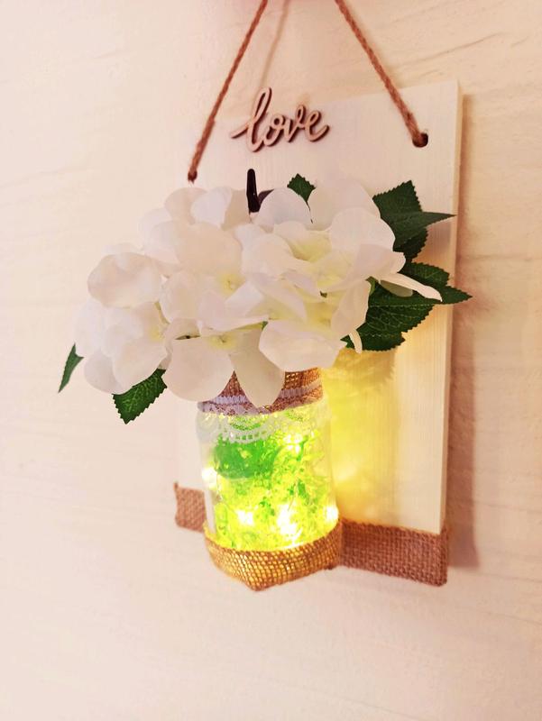 Настенная подвеска. +светодиодная подсветка. Декор