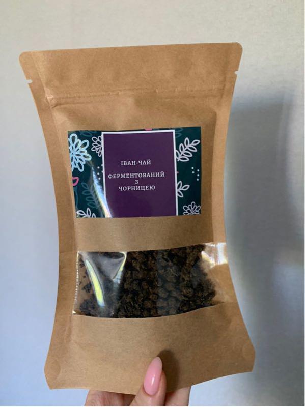 Иван-чай ферментированный с листочками черники - Фото 2