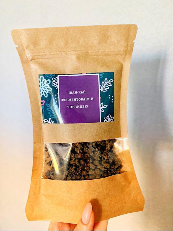 Иван-чай ферментированный с листочками черники - Фото 3