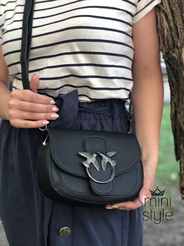 Сумка сумочка на длинной ручке cross-body сумочка трендовая и ... - Фото 2