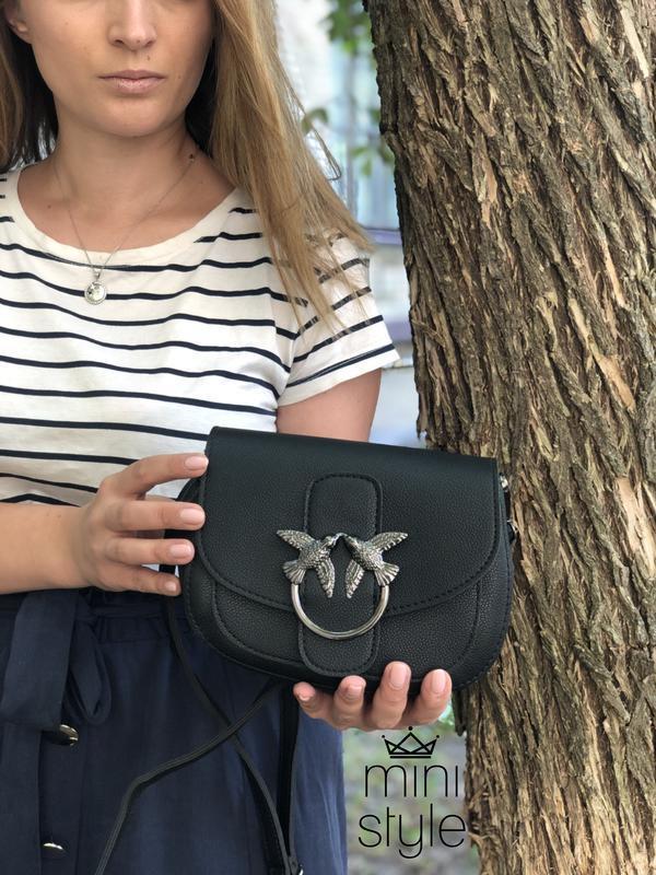 Сумка сумочка на длинной ручке cross-body сумочка трендовая и ... - Фото 3