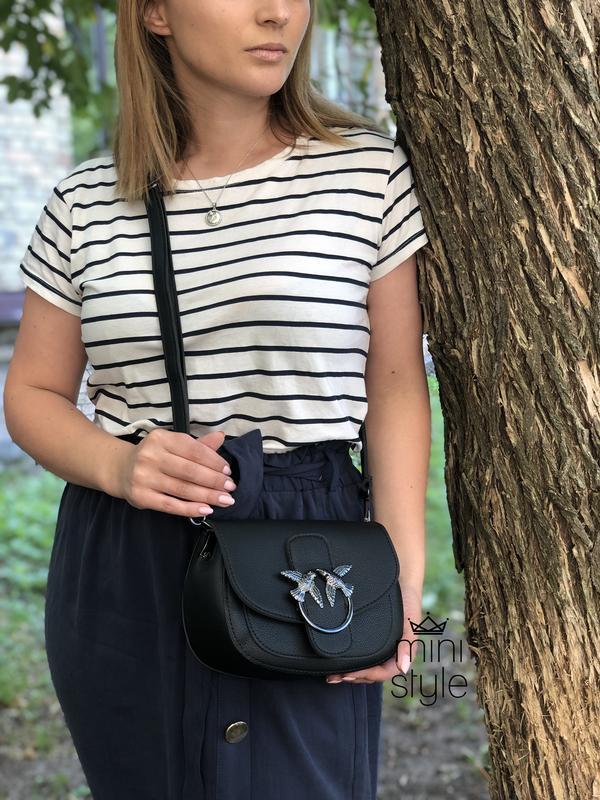 Сумка сумочка на длинной ручке cross-body сумочка трендовая и ... - Фото 4