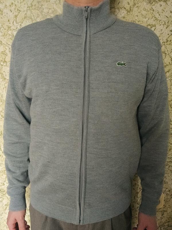 Кофта, свитер, пуловер, карлиган lacoste