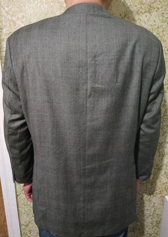 Брендовый шерстяной #пиджак #pierre cardin - Фото 3