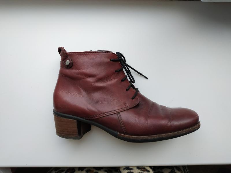 Wolky стильные ботинки кожа оригинал