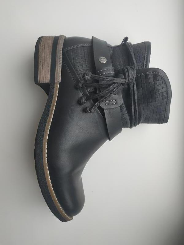 Rieker ботинки зима идеал германия