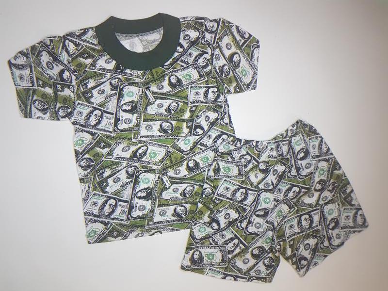 Футболка и шорты для мальчика летний комплект на 1-2 года