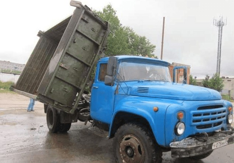 Вывоз мусора Луцк: Вывоз строительного мусора зилом - Фото 6