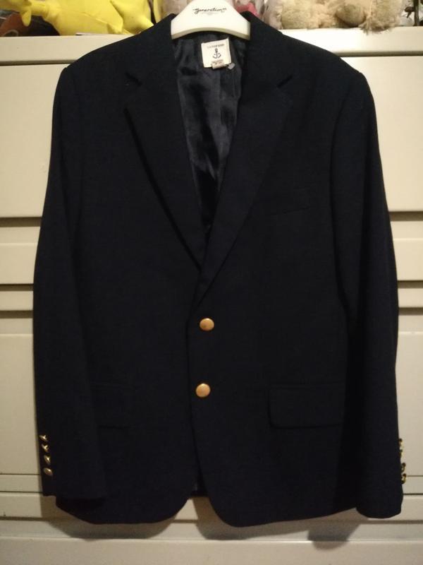 267 школьный классический пиджак