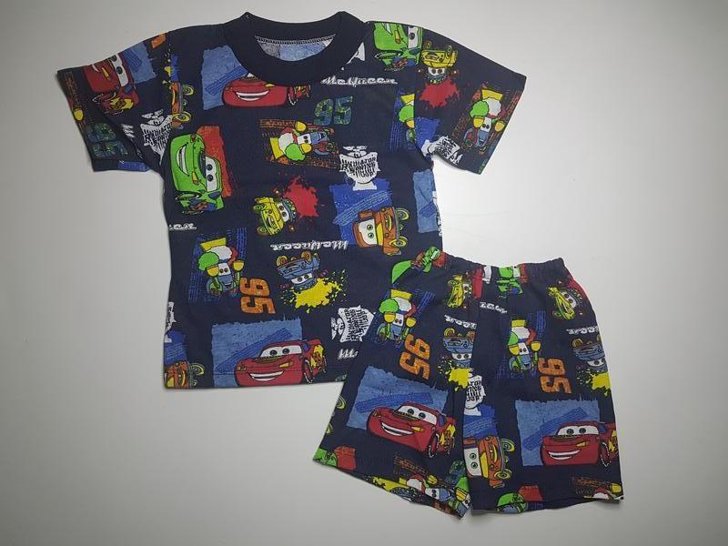 Футболка и шорты для мальчика летний комплект на 3-4 года