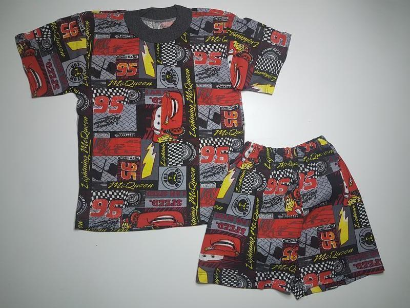 Футболка и шорты для мальчика летний комплект на 4-5 лет
