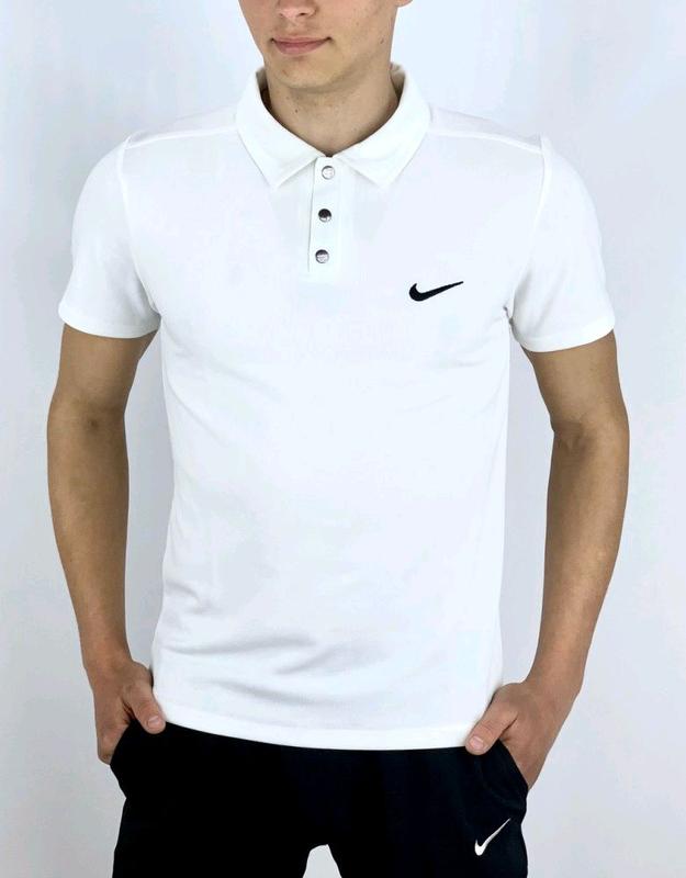Футболка Polo Nike Белый