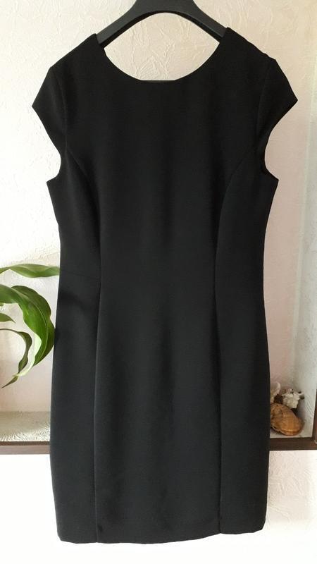 Hallhuber donna женское вечернее нарядное платье футляр - Фото 2