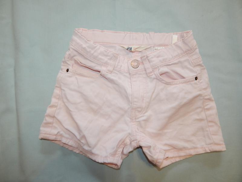 Шорты джинсовые модные на девочку 4-5 лет до 110 см