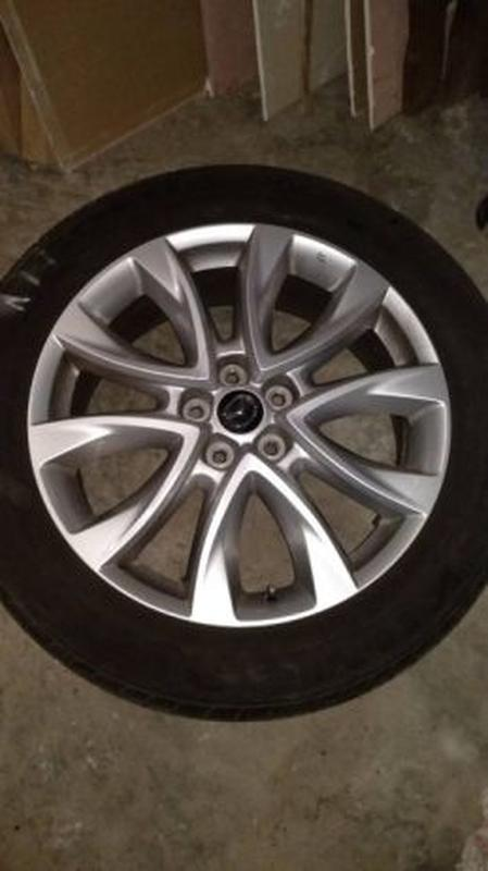 Диски 19 шины Mazda cx5, cx 5, 6 - Фото 2