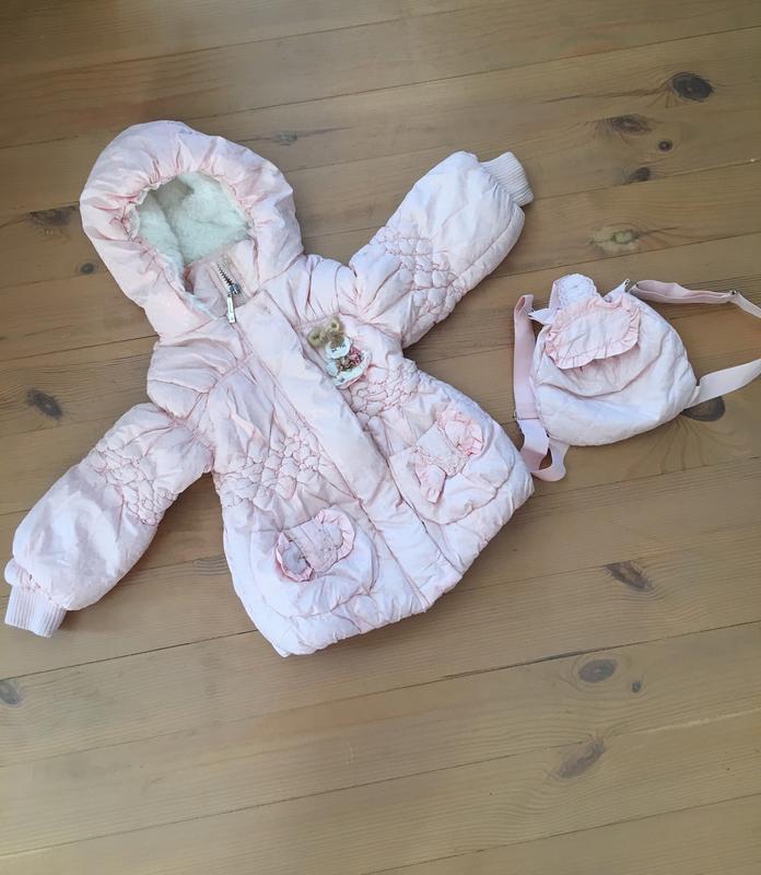 Куртка для маленької принцеси