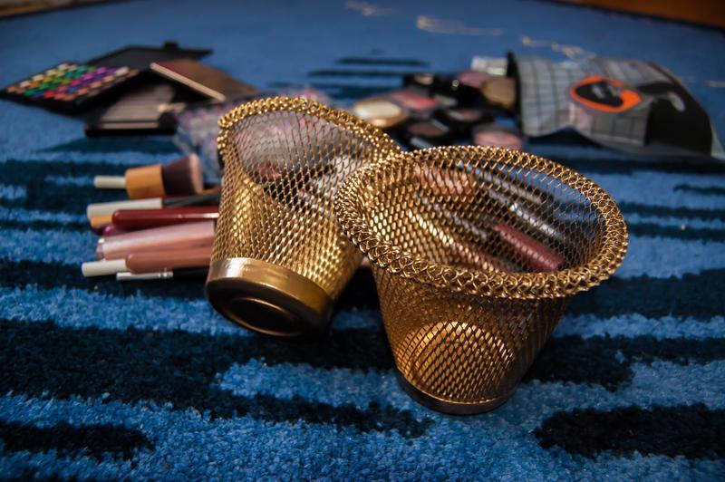 ❤органайзер-корзинка для косметики для косточек для мастеров м...
