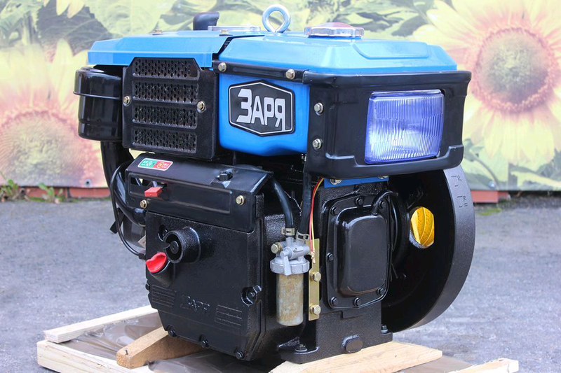 Мотор мотоблока Заря 10лс