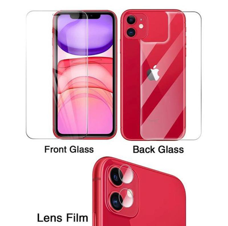 Стекло на заднюю крышку заднее защитное стекло на Айфон 11 iPhone