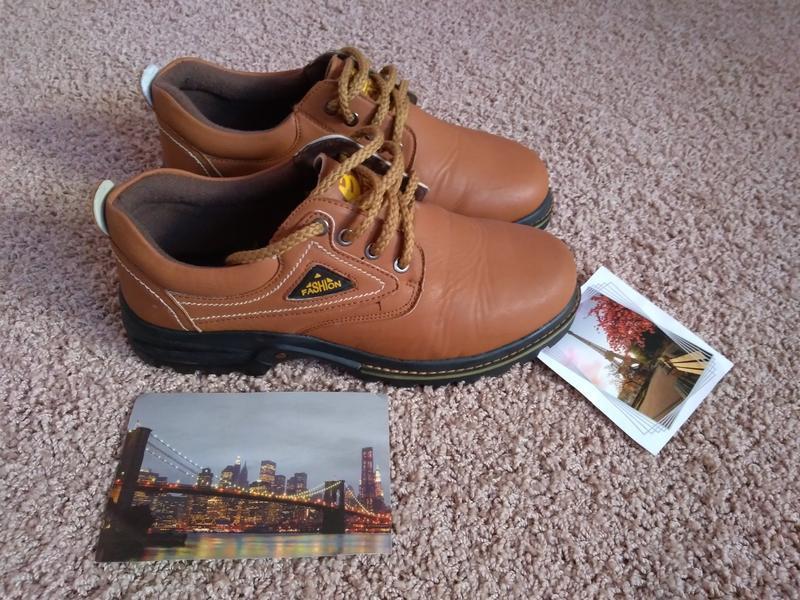 Ботинки туфли binsin fashion эко кожа 28 см 43 44 р