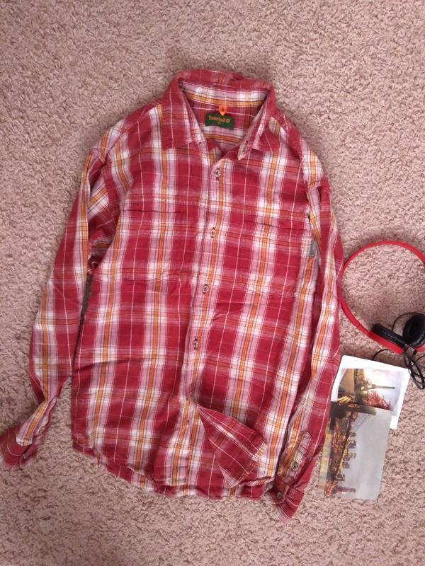 Рубашка детская timberland 12 лет 152 длинный рукав